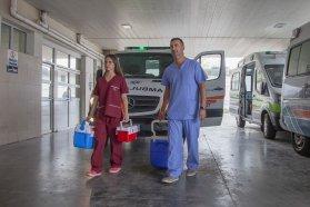 En Gualeguaychú una nueva donación de tejidos permitirá dos trasplantes de córneas