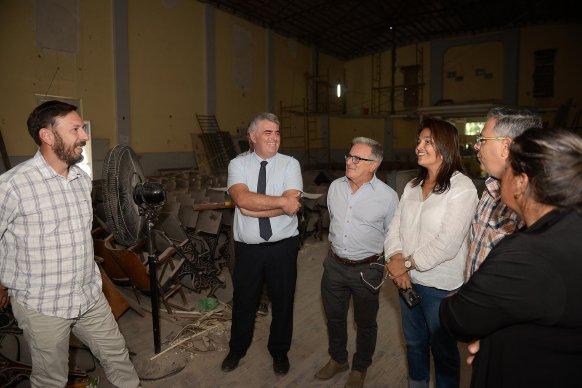 El gobierno trabaja en la restauración del edificio de la Banda de Policía de Entre Ríos