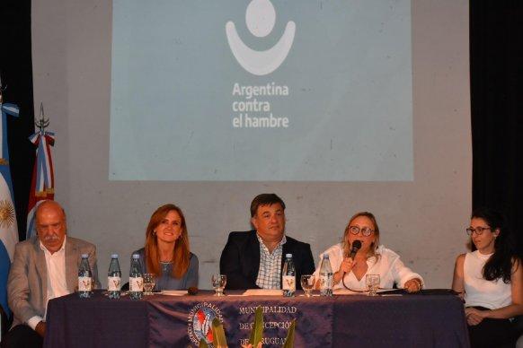 El gobierno provincial acompañó la conformación del Consejo Argentina y Concepción del Uruguay contra el Hambre