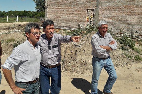La planta de agua de La Paz presenta un 36 por ciento de avance