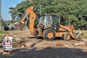 Avanzan los trabajos de conectividad e infraestructura urbana en La Criolla