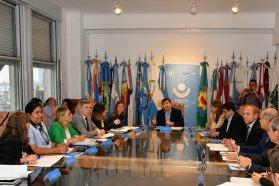 Entre Ríos participó del segundo encuentro federal encabezado por el titular de Desarrollo Social de la Nación