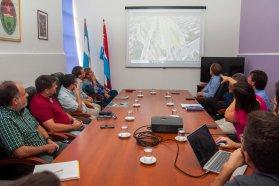 Evalúan la puesta en valor de uno de los accesos a Paraná