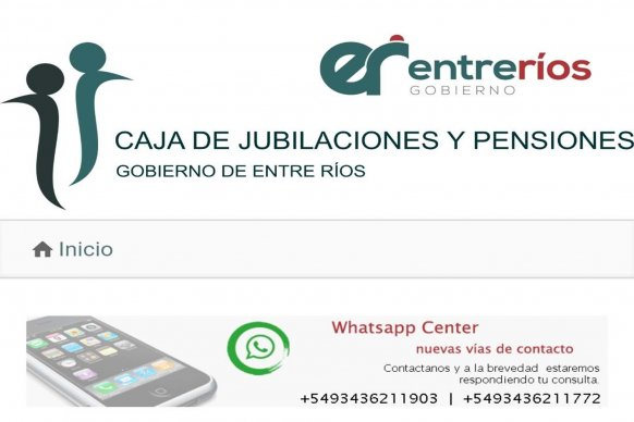 La Caja de  Jubilaciones implementó un nuevo sistema de información mediante audios de WhatsApp