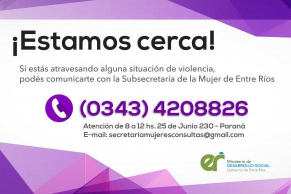 Se habilitó un nuevo canal de comunicación para asistencia en situaciones de violencia
