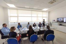 Asistencia social y situación financiera en la agenda de Bordet con intendentes