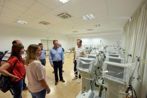 Se completó el equipamiento del nuevo hospital de Paraná