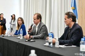 La vicegobernadora Stratta destacó los anuncios respecto de financiamiento para reactivar la obra pública