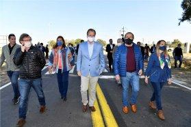 Bordet reactiva obras de infraestructura vial para movilizar la economía