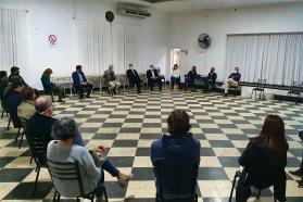Autoridades provinciales de Salud coordinan acciones junto a referentes locales de la costa del Uruguay