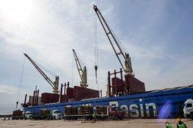 Llega a Ibicuy para completar su carga el carguero que zarpó de Concepción del Uruguay