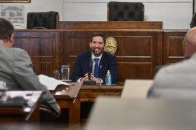 El postulante a la titularidad del Consejo General de Educación expuso en audiencia pública ante el Senado