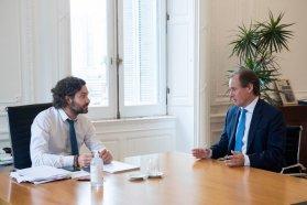 Bordet formalizó ante Nación el pedido por reuniones familiares y deportes individuales
