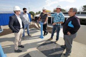 Avanzan los dos frentes del plan director de Agua de Concepción del Uruguay