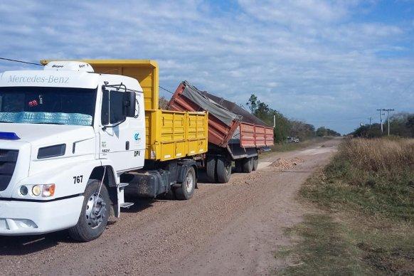 Vialidad trabaja en el mantenimiento de la red vial de la zona de Alcaraz
