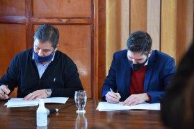 Convenio de colaboración entre el CGE y la Municipalidad de Diamante
