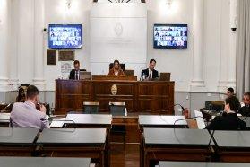 El Senado prestó acuerdo para los cargos de presidente y vocales del CGE