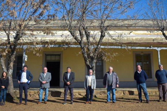 Cafesg firmó un convenio de colaboración con el municipio de Pueblo Liebig