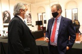 Alberto Fernández y el gobernador Bordet compartirán una agenda de trabajo el miércoles en la provincia