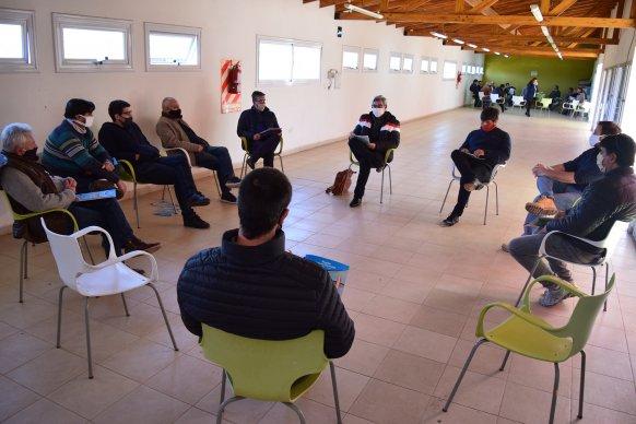 La provincia encabezó una jornada de trabajo en Federación en materia de Producción