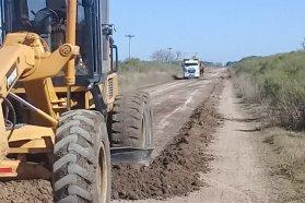 Vialidad repasa caminos rurales dentro de los departamentos La Paz, Villaguay y Paraná