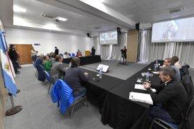 Bordet compartió las acciones del gobierno ante la pandemia con diputados del oficialismo
