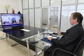 Bordet abordó la situación epidemiológica de Entre Ríos con el Presidente por videoconferencia