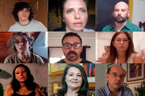 Conversatorio virtual con los ganadores del 56º Salón anual de Artistas Plásticos de Entre Ríos