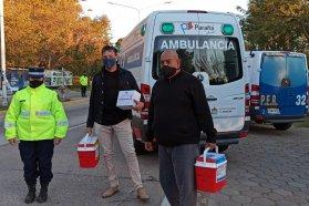 Una nueva donación de órganos y la coordinación de tres provincias posibilitaron trasplantes