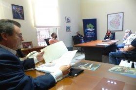 El gobierno dialogó sobre el avance de las obras con la Cámara de la construcción