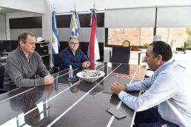 Bordet en CTM: Navegabilidad y polo educativo en la agenda binacional argentina-uruguaya