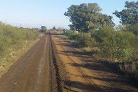 Vialidad ejecuta obras de conservación en caminos rurales del departamento Viallaguay
