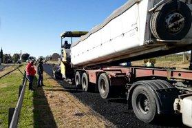 Avanza la rehabilitación del acceso a Tres Bocas y de un tramo de la Ruta 11