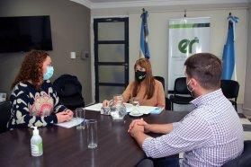 La ministra de Salud se reunió con la intendenta de Villa del Rosario