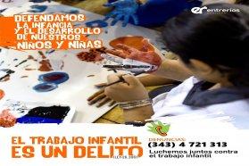 Impulsan capacitaciones para concientización y prevención del trabajo infantil