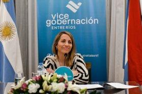 Stratta se reunió con vicegobernadoras argentinas para poner en común temas de agenda política y de gestión