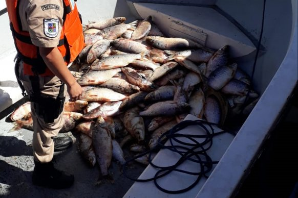 Fiscalizan el cumplimiento de la disposición judicial en torno a los cupos de pesca