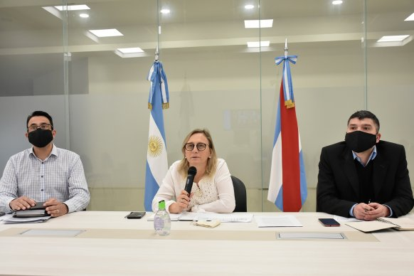 El Ministerio de Desarrollo Social fortalece el trabajo en materia de políticas alimentarias en los departamentos