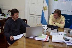 El ministro de Producción se reunió con el director Nacional de Lechería