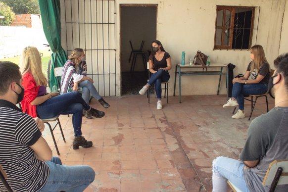 El Estado provincial acompaña a los jóvenes que trabajan por la comunidad