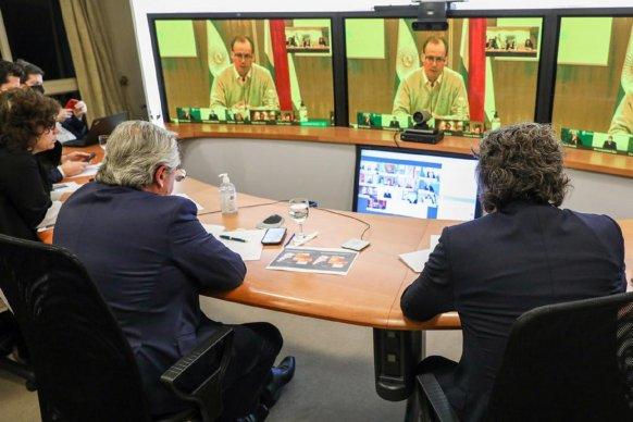 Bordet dialogó con Alberto Fernández y Nación destacó la estrategia de Entre Rios en la pandemia