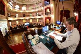 Ballay brindó detalles en Diputados sobre la licitación del agente financiero