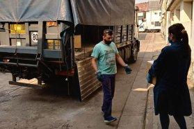 Vialidad Provincial realizo el primer retiro y entrega de residuos peligrosos