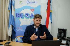El Instituto Becario presentó la plataforma virtual para la feria de carreras a las universidades