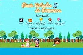 Picnics virtuales de primavera para los estudiantes entrerrianos