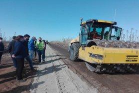 Se reiniciaron los trabajos en la Ruta Provincial Nº6