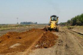 Vialidad repasa caminos productivos en diferentes puntos de la provincia