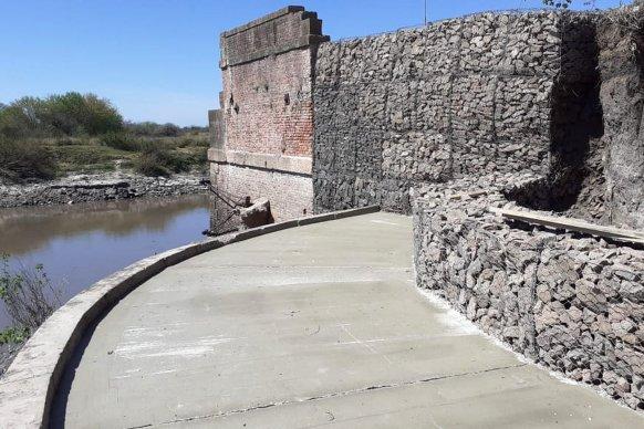 Etapa final de los trabajos de la defensa de la Cabecera de los Puentes Carreteros de Rosario del Tala