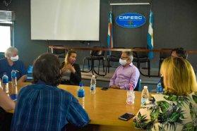 La provincia coordina con la Cafesg un trabajo conjunto en torno a las juventudes de la Región de Salto Grande