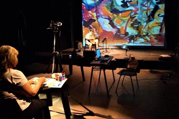 Sergio Scacchi y Laura Sosa se presentan en el ciclo Doble Horizonte